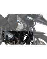 Crash bars *stainless steel* black, for BMW R1200GS up to 2012