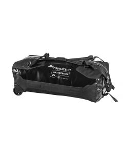 Travelbag Duffle RS with wheels, 110 litres, black, by Touratech Waterproof