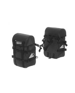 Saddle bags ENDURANCE Strap (pair), black, by Touratech Waterproof